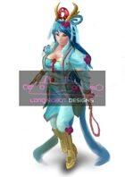 Beautiful Chinese Dancer  - High Quality RPG Stock Art