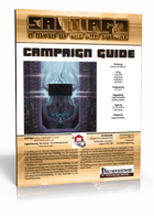 SANTIAGO: A Myth of the Far Future Campaign Guide (PATHFINDER RPG)