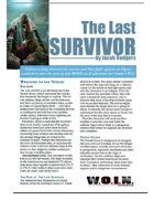 [WOIN] The Last Survivor