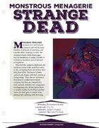EN5ider #86 - Monstrous Menagerie: Strange Dead