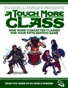 [5E] A Touch More Class: 9 More Classes for 5th Edition