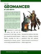 [5E] A Touch More Class Exclusive Preview: The Geomancer