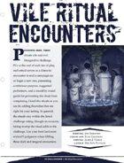 EN5ider #105 - Vile Ritual Encounters
