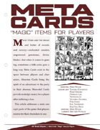 EN5ider #224 - Meta Cards: 'Magic' Items For Players