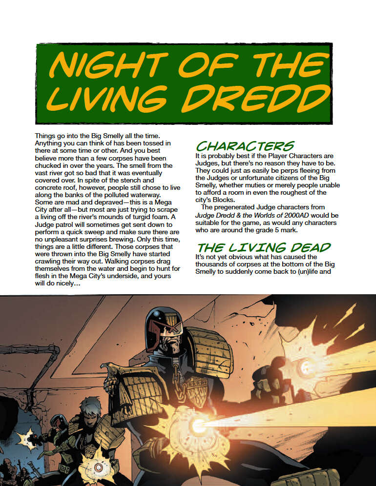 Judge Dredd Case File #3: Night of the Living Dredd