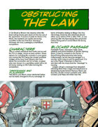 Judge Dredd Case File #4: Obstructing the Law