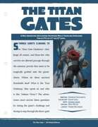 EN5ider #300 - Mini-Adventure: The Titan Gates