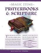 EN5ider #308 - Magic Items: Prayerbooks & Scripture