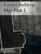 Ruined Buildings Map Pack I