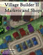 Village Builder II - Markets and Shops
