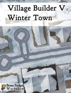 Village Builder V - Winter Town