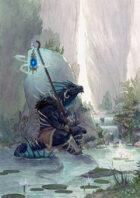 Vagelio Kaliva - Stock Watercolour Illustration: Spirit guide