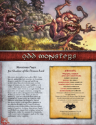 Odd Monsters