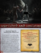 Wretched and Unclean