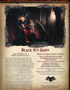 Black Sun Dawn
