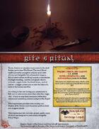 Rite & Ritual