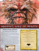 Animist: Way of Beasts