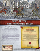 Way of the Transforming Blade