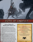 Paths of Conflict