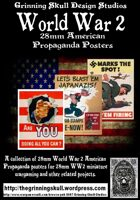 World War 2 28mm American Propaganda posters