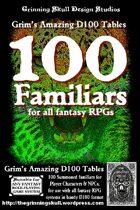 100 Familiars for all Fantasy RPGs