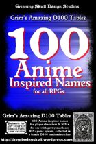 100 Anime Inspired Names for all RPGs