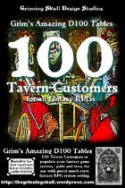 100 Tavern Customers for all Fantasy RPGs