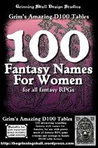 100 Fantasy Names for Women for all fantasy RPGs