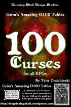 100 Curses for all RPGs
