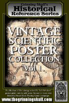 Grinning Skull's Historical Reference Series: Vintage Scientific Poster Collection Vol 1.