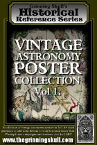 Grinning Skull's Historical Reference Series: Vintage Astronomy Poster Collection Vol 1.