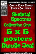 Classic Covers: Skeletal Spectres 1 5x5 Bundle [BUNDLE]