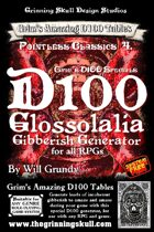 Grim's D100 Specials: D100 Glosslalia Gibberish Generator for all RPGs