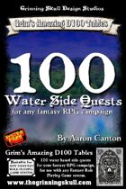 100 Water Side Quests for any fantasy RPG campaign.