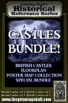 Castles Bundle! British Castles Floorplans Bundle 1. [BUNDLE]
