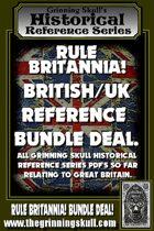 RULE BRITANNIA! British/UK Reference Bundle Deal [BUNDLE]