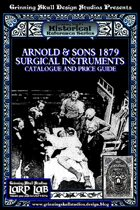 LARP LAB Historical Reference: 1879 Surgical Instruments Catalogue