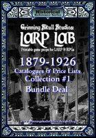 LARP LAB: 1879-1926 Catalog & Price list collection #1 [BUNDLE]