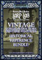 LARP LAB: Vintage Doctors/Medical printable resources [BUNDLE]