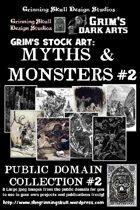 Grim's stock Arts: Myths & Monsters #2: Public Domain Collection #2.
