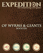 Expedition: Of Wyrms & Giants Booster