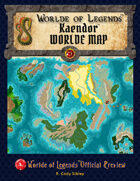 Worlde of Legends™ MAP: Campaign Worlde - Kaendor