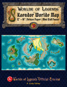 Worlde of Legends™ MAP: Worlde of Kaendor™ Campaign Worlde
