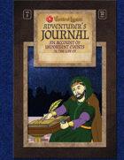 Worlde of Legends™ SUPPLEMENT: Adventurer's Journal