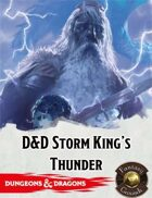 Fantasy Grounds: D&D Storm King's Thunder