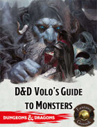 Fantasy Grounds: D&D Volo's Guide to Monsters