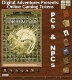 Online Gaming Tokens Pack #3: PCs & NPCs