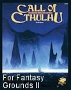 Call of Cthulhu Ruleset for Fantasy Grounds II