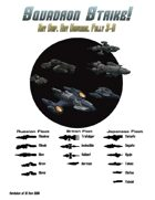 Squadron Strike!, Ship Book 1