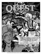 Quest Corporeal: Mini-comic #1, The Deadly Legend of the Blue Rose